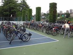 Canada Day Bike Valet Parking