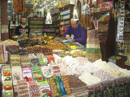 Turkish sweet shop, Spice Bazaar