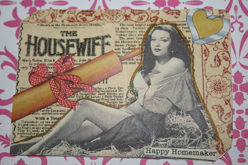 Pin-up Happy Homemaker for Swap-bot.com