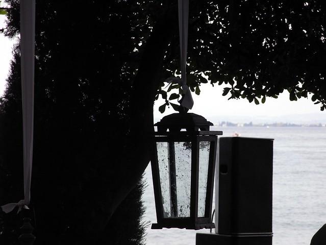 Lamp and lake