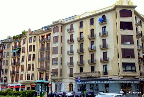 Edificios de viviendas en la calle Arrieta