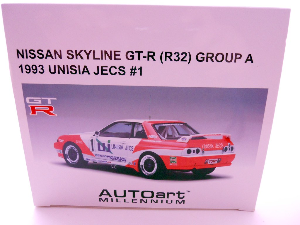 auto art unisia jecs nissan skyline R32 (4)