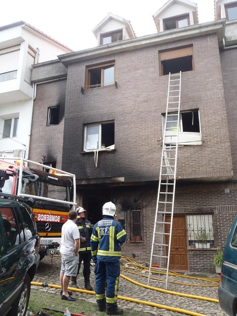 Incendio en Comillas, Cantabria
