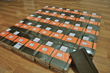 One Hundred (and three) Moleskine Notebooks