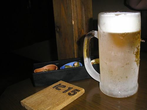 Beer in Za-Watami (Izakaya)