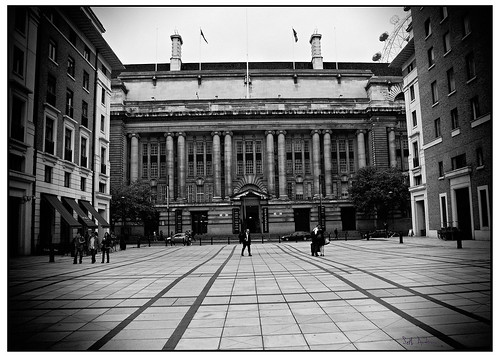 The County Hall, London - TRI-X 400