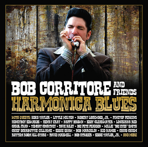 Bob Corritore and Friends - Harmonica Blues (CD)