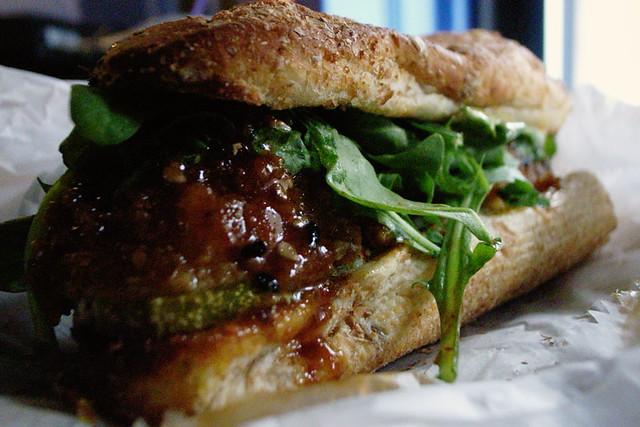 General Tso's sandwich