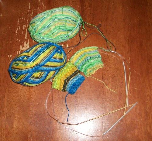 Socks on Circular Needles