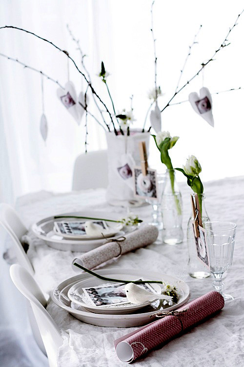 DIY Lovely Table Setting