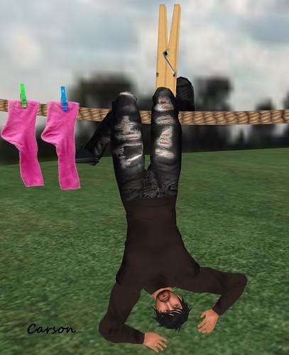 Wetcat hangin' around 2