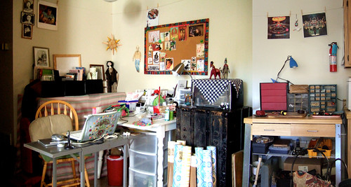 Drawing, sculpture and carpentry work station