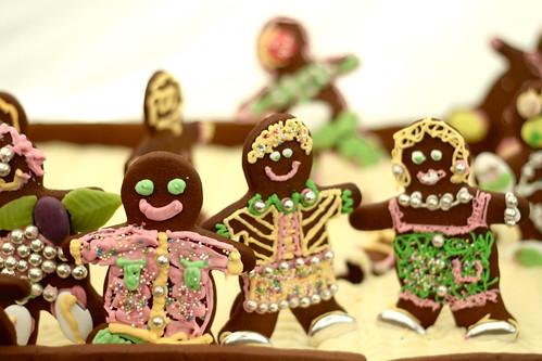 Gingerbread men @Konditor & Cook stand, Thames Festival