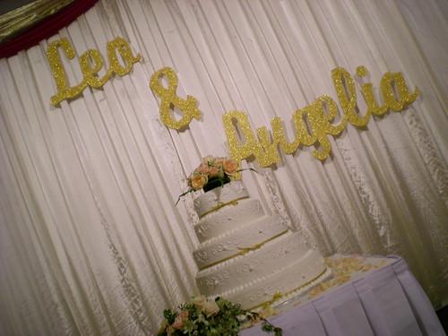 Leo's wedding 2 - The wedding cake
