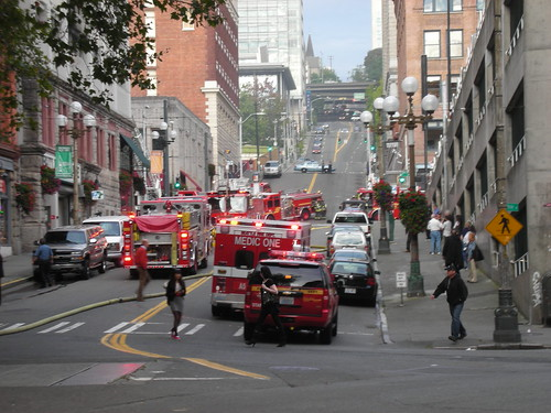 Seattle Fire Department in Action