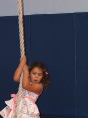 Hanging on for dear life...