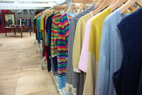 Stripey knits