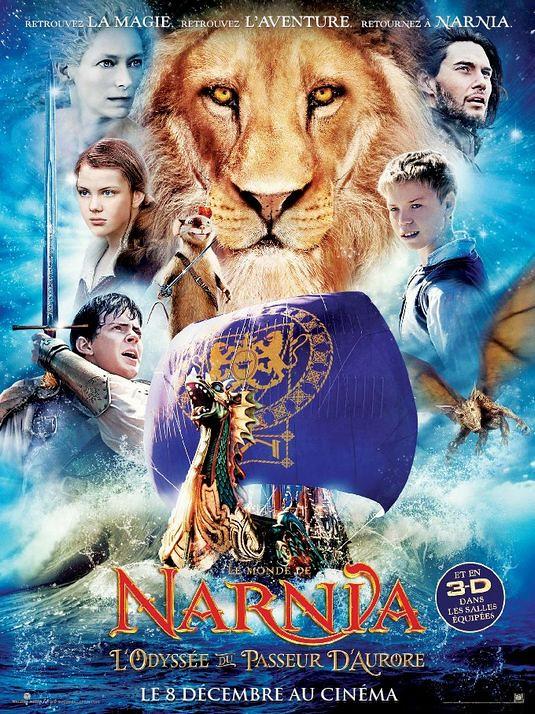 poster Las Crónicas de Narnia: La Travesía del Viajero del Alba