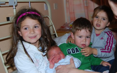 Samuel gets to meet his sisters & brother for the first time