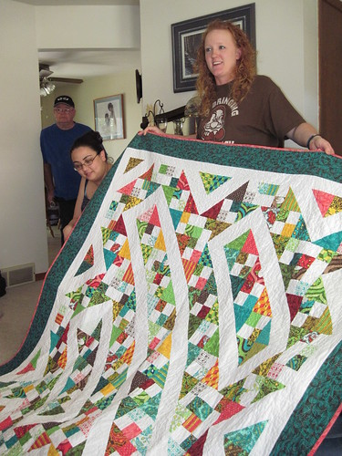 Karrie & her Charm Pack quilt along quilt