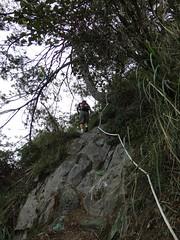 另一個上山的遊客