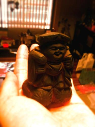 中島家の大黒様(いわゆる木喰とは別の木喰が彫ったもの)
