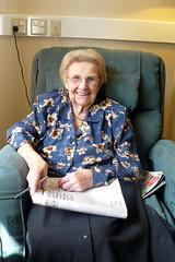 Grandma doing the SMH crossword puzzle