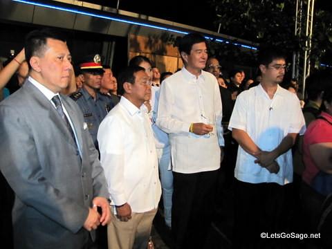 Vice President Binay & Sec Alberto Lim
