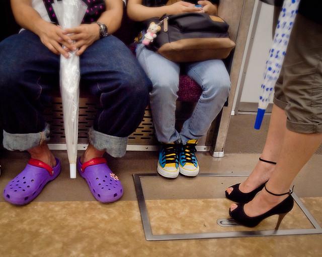 Tokyo Metro Foot Fashions