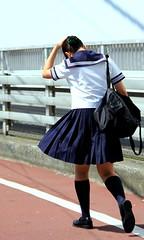 Sailor suit(High-school girl)