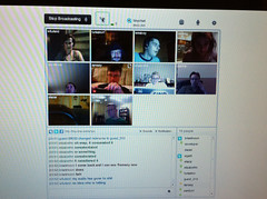 Hanging out on @tinychat tonight with the @phpc.