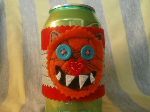 monster drink cozy
