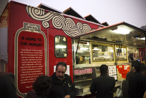 Chairman Bao Bun Truck at Off the Grid Fort Mason