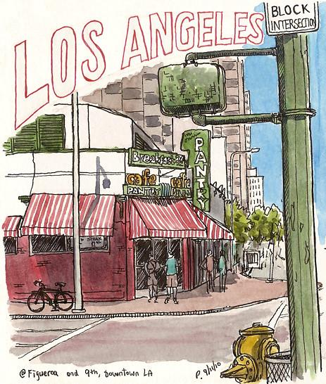the original pantry, downtown LA