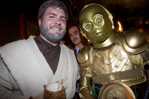 Obi-Wan Kenobi and C-3PO