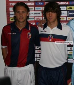 Bologna FC Macron 2010/11 Jerseys / Maglie