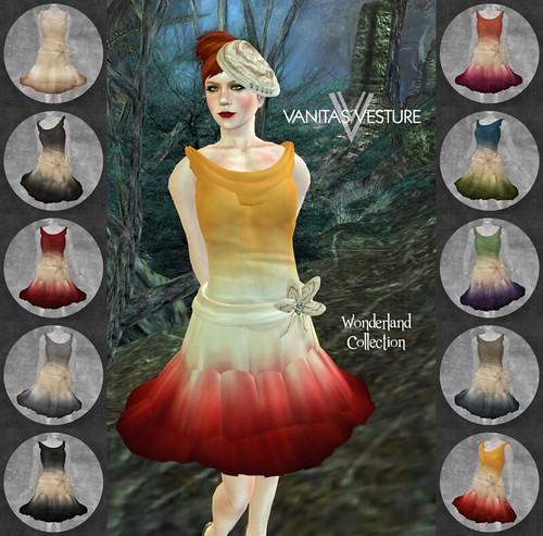 Vanitas Vesture - Wonderland - Epigram Dress