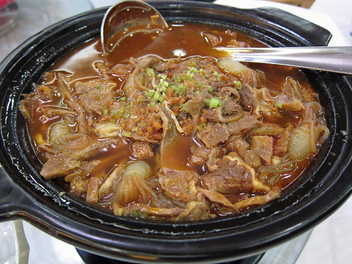 Braised Beef with Mung Bean Noodles