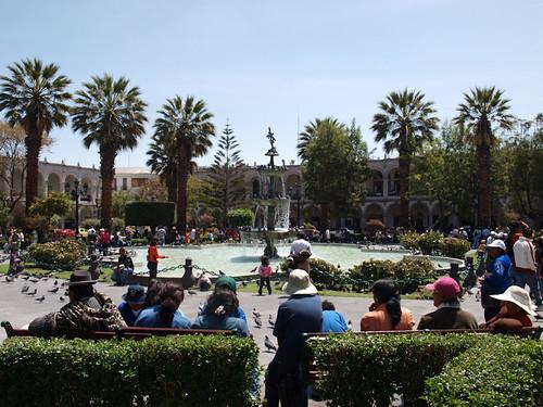 Arequipa - Plaza de Armas (5)