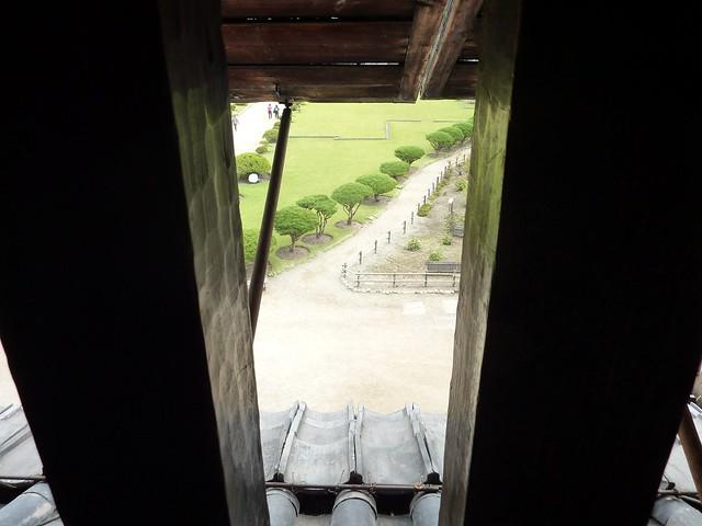 View from upper floor