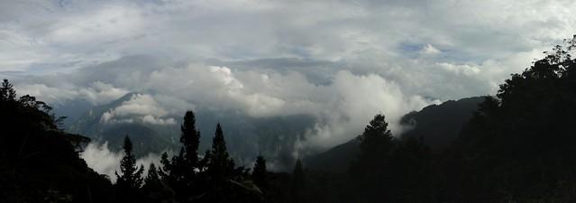 山景、雲海