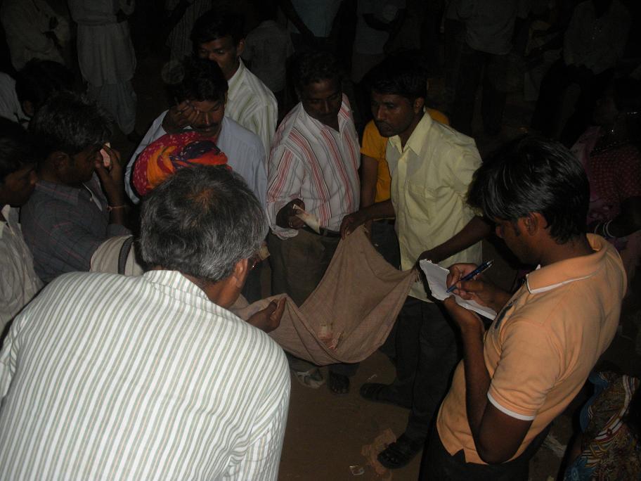Pics from the satyagraha - 5, 6 & 7 Oct 2010 - 6