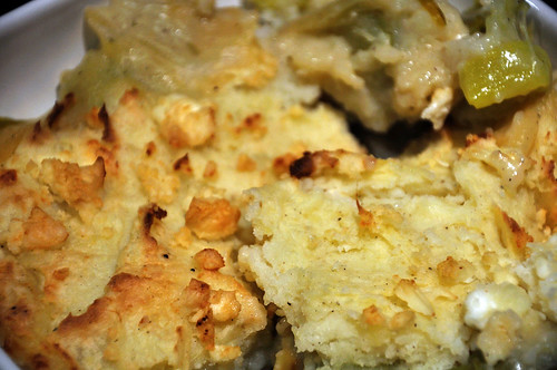 Leek and Potato Pie