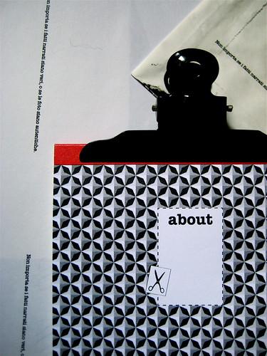 about, blocknotes, a cura di Federico Novaro, grafica di Stefano Olivari, packaging di Cristina Balbiano d'Aramengo, cop. (part.), 2