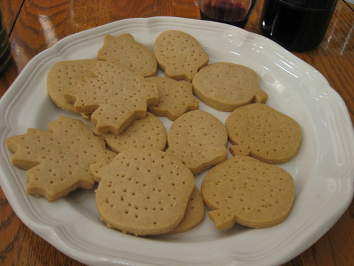 cardamon shortbread