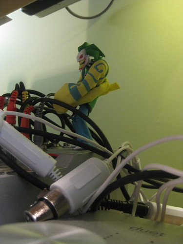 Straitjacket Joker Taking Over The Studio 2_ The Synthesizer Book