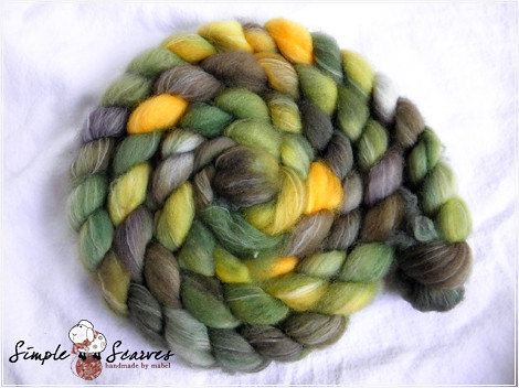 Superwash Merino-Nylon in Woody Grass