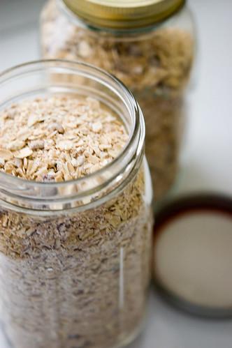 oatmeal - jarred