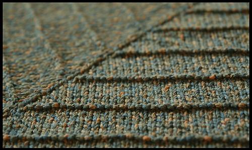 Boneyard shawl finished