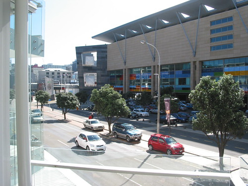 The Balcony View of Te Papa